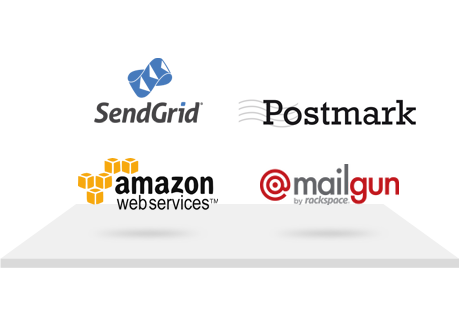 Postreak works with many popular email delivery providers